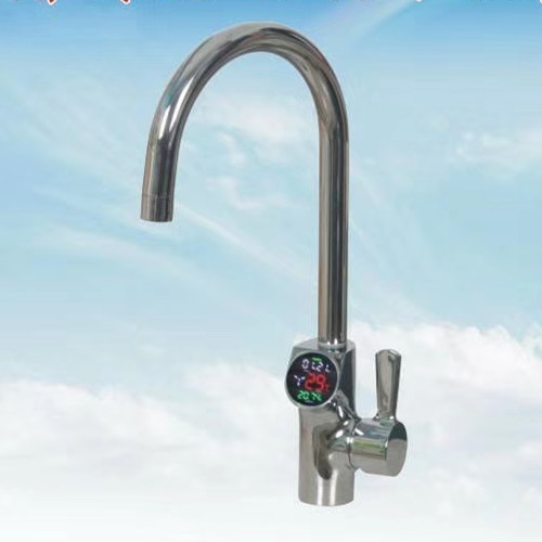 Hydroelectric Power Temperature LCD Display faucet